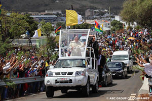 The Latest Popemobile Is Not What We Expected