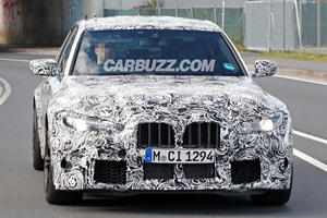 New BMW M3 Spotted With Massive Kidney Grilles