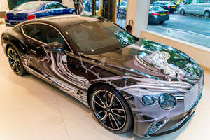 One-Off Bentley Continental GT Is A Curious Work Of Art
