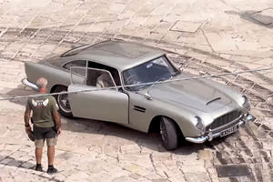 Aston Martin DB5 To Star In Epic James Bond Car Chase