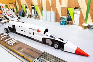 Supersonic Bloodhound Jet Car Heads To The Desert