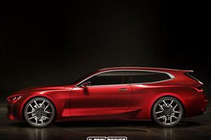 BMW Concept 4 Wagon Is a Stunner