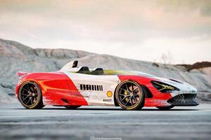 McLaren 720S Speedster Gets Crazy Marlboro Livery