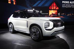 Mitsubishi Outlander Getting A Radical New Design