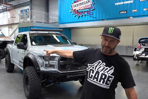 Ken Block Just Bought A Raptor-Powered Supra