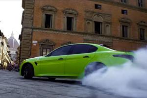 Watch The Alfa Romeo Giulia Burn Rubber In Michael Bay's New Movie
