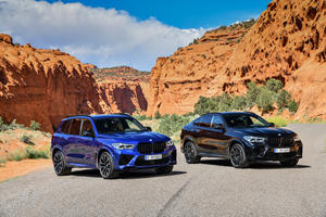 How Do 2020 BMW X5 M/X6 M Compare To BMW X5/X6?