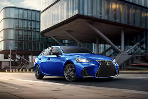 Lexus IS F Sport Gets The Blackline Treatment