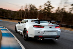 The Chevy Camaro ZL1 Is Much Slower With The 1LE Package