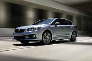 2020 Subaru Impreza Shows Its New Face