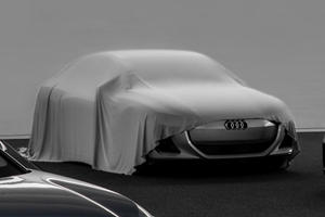 Audi Teases Sleek Electric Coupe Concept