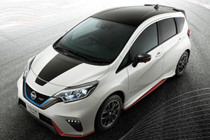 Nissan Versa Note Gets Nismo Black Edition In Japan