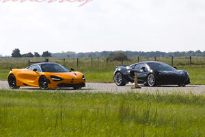 Drag Race: Hennessey McLaren 600LT Vs. McLaren 720S