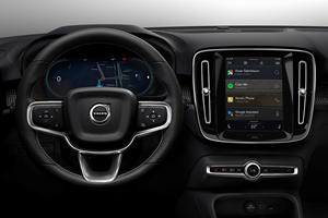 Volvo and Google Team Up For Next-Gen Infotainment System