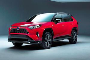 Toyota Teases First-Ever RAV4 Plug-In Hybrid