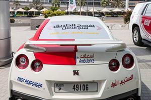 Nissan GT-R And Corvette Grand Sport Become Dubai Ambulances