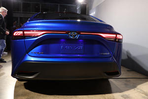 Next-Generation Toyota Mirai Shares Something In Common With LC 500