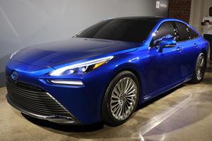 2021 Toyota Mirai Breaks The Mold With Stunning New Looks