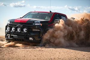 Chevrolet Silverado Transforms Into Off-Road Racing Beast