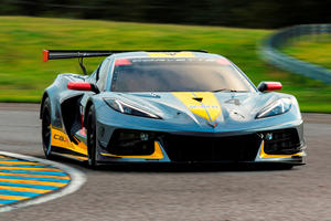 Chevrolet Corvette C8.R Race Car Previews New Z06