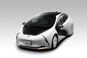 Futuristic Toyota LQ Concept Wants To Be Your Friend