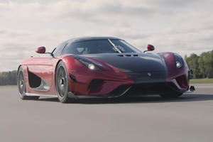 This Is What 0-249-0 MPH In A Koenigsegg Regera Looks Like