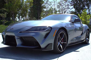 Listen To The Toyota Supra Crackle And Pop With An Aftermarket Exhaust