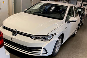This Is The New VW Golf Before You're Supposed To See It