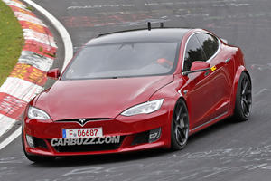 Tesla Returns To Nurburgring With Two Badass Prototypes