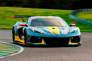 Pump Up The Volume And Listen To The Corvette C8.R's Glorious V8