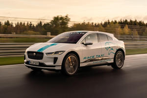 Jaguar I-Pace Is Your New Nurburgring Taxi