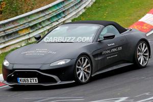 Aston Martin Vantage Roadster Attacks The Nurburgring