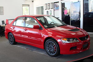 Hidden Treasure: Brand-New 2006 Mitsubishi Lancer Evolution MR Edition