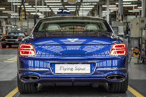 Ultra-Luxurious Bentley Flying Spur Enters Production