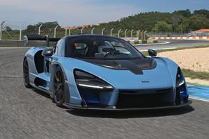 Watch The McLaren Senna Set An Astonishing Lap Record