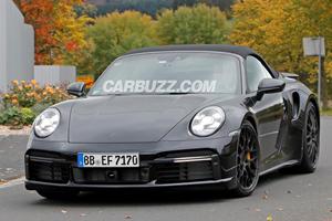 2020 Porsche 911 Turbo Cabriolet Drops More Camo