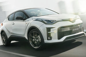 Toyota Gives The C-HR A Sporty Makeover