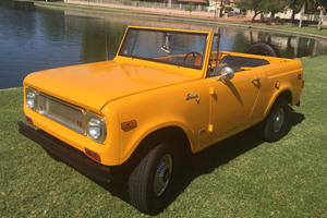 This Convertible Offroad SUV Screams 1970's Cool