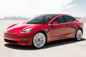 Tesla Model 3 Already Fighting Back Against Porsche Taycan