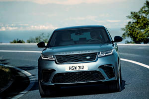 Land Rover Preparing Electric Porsche Macan Rival