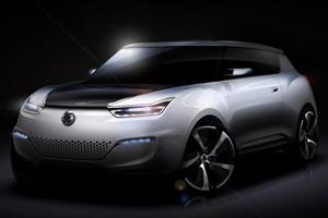 Ssangyong to Unveil e-XIV Concept in Paris