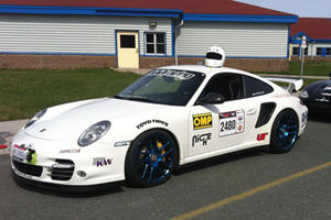 Vivid Racing Starts Off for Targa