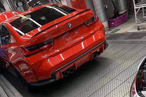 LEAKED: Check Out The Rear Of New BMW M3