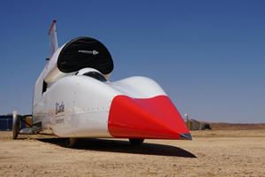 Supersonic Bloodhound Jet Car Ready For 500-MPH Test