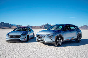 Hyundai Attempts Land-Speed Records With Unlikely Models