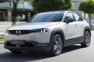Mazda Enters Electric Car Market With All-New MX-30