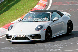 Check Out The New Porsche 911 GTS Convertible Undisguised