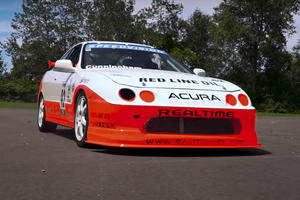 Legendary Acura Race Car Restored To Former Glory