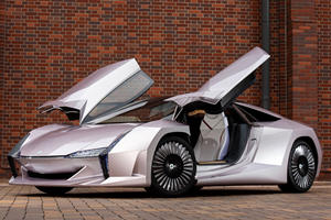 Unique Japanese Supercar Concept Made From Recycled Biomass