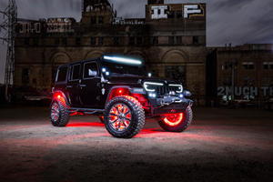 Custom Jeep Wrangler May Give Your Children Nightmares